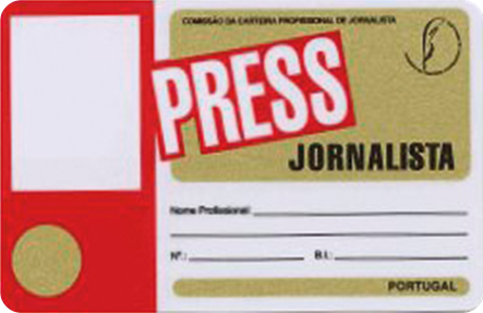 Professional Journalist License
